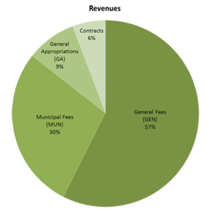 FY11 Revenues Chart